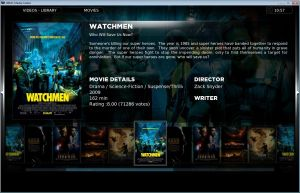 XBMC Example 1. Click for full screen.