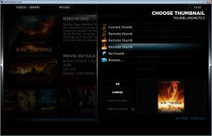 XBMC Example 4. Click for full screen.